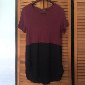 Maroon & Black Lush T-shirt